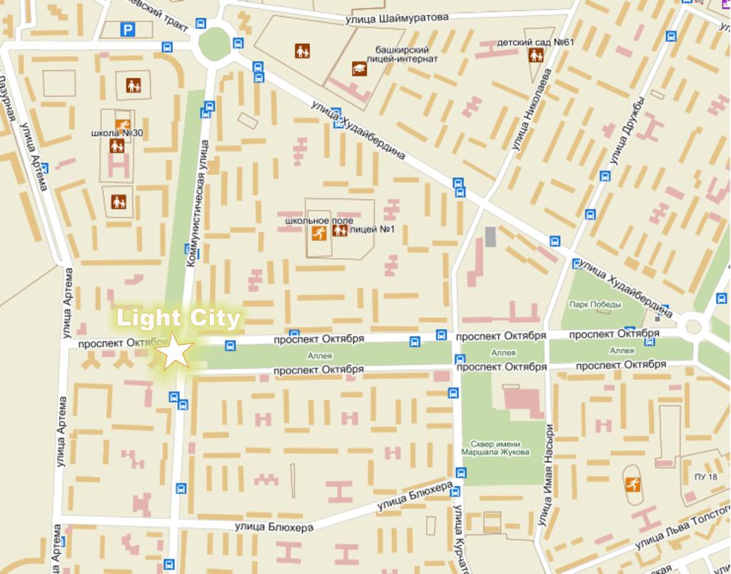 карта стерлитамака с улицами и номерами домов